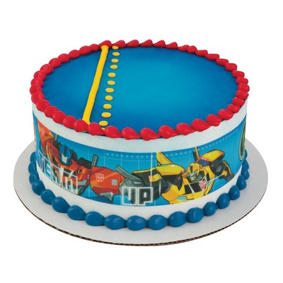 Transformers Cake Strips Edible Topper