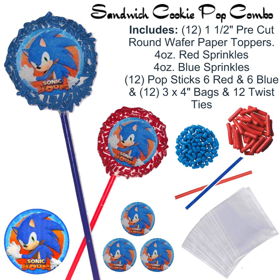 Sonic The Hedgehog Sonic The Hedgehog Oreo Pops Sonic The Hedgehog Oreos Sonic The Hedgehog Cake Pops Sonic The Hedgehog Party Ideas Sonic The Hedgehog Party Supply